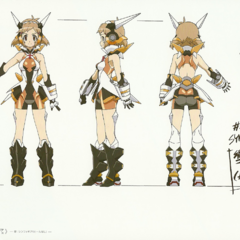 Hibiki's Gungnir Design