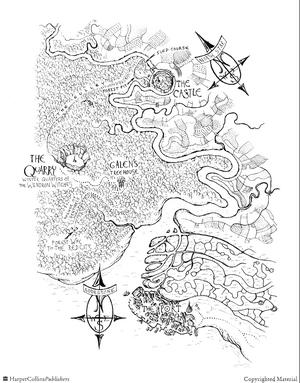 Sandrider Castle Map