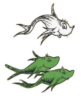 Image - One fish two fish.png | Dr. Seuss Wiki | FANDOM powered by ...