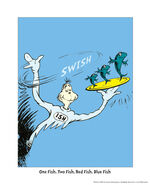 Geisel-theodor-dr-seuss-one-fish-two-fish-red-fish-blue-fish-on-blue