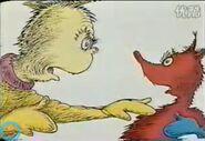 Now wait a minute mr sock fox