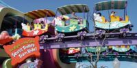 High in the Sky Seuss Trolley Train Ride