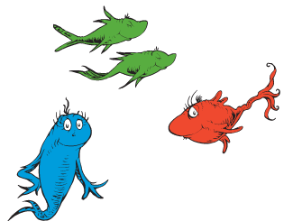 One Fish Two Fish Red Fish Blue Fish | Dr. Seuss Wiki | FANDOM ...