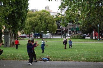 Tai Chi in Washington Square