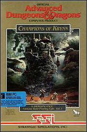 Champions of Krynn okładka
