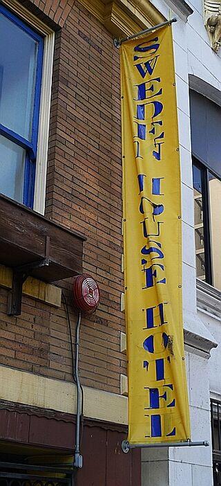 Sweden House Hotel Banner