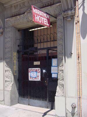 Marathon Hotel detail