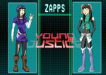 Zapps Young Justice style