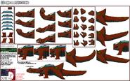 Bio Lizard sheet