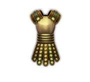 Armor gilded centurion