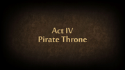 ACT IV Pirate Throne