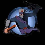 Ninja man batons old