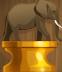 Crouching Elephant (Gold)