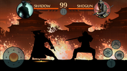 Shogun Fight Begins