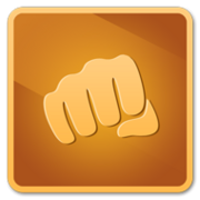 Punchfights bronze