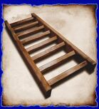 Red oak ladder