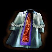 Snow-white robe