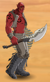 Elite Sand Warrior