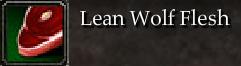 Lean Wolf Flesh