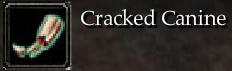 Cracked Canine