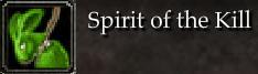 Spirit of the Kill