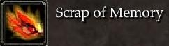 Scrap of Memory