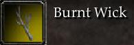 Burnt Wick