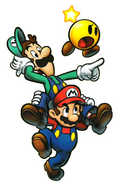 Mario and his Bro