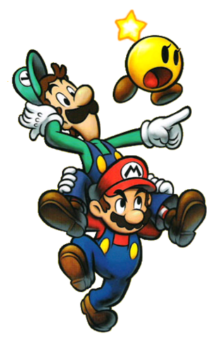 File:Mario and his Bro.png