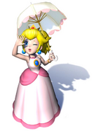Peach with Parasol