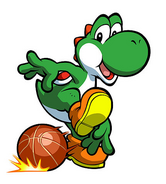 Yoshi and Basketball
