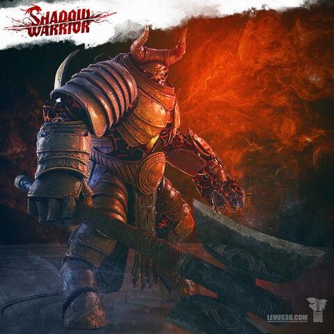File:Shadow warrior gozu boss character by levus3d-d8dcd7u.jpg
