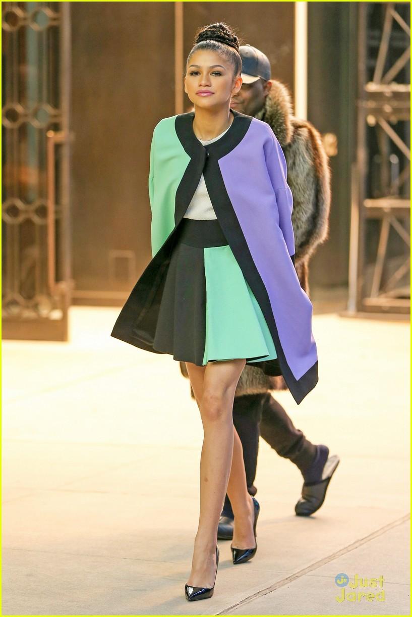 Image Zendaya Causes Scandal Nyc Street Style