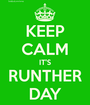 KEEP CALM RUNTHER DAY RDAY