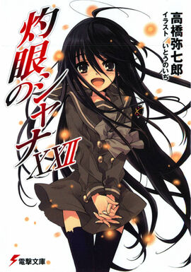 Shakugan no Shana Light Novel Volume 22 cover