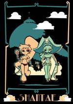 Shantae vs risky by donparadon-d6ootik