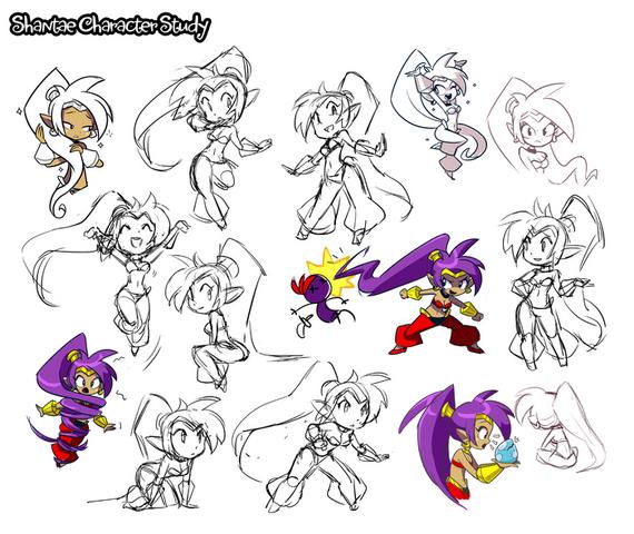 File:Shantae character hgh concepts.png