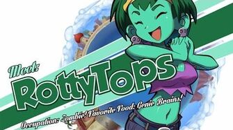 Shantae and the Pirate's Curse Character Spotlight Rottytops-1