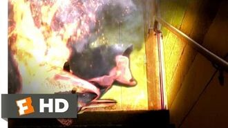 Sharknado 2 The Second One (6 10) Movie CLIP - Flaming Sharks! (2014) HD