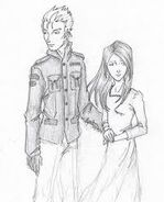 Warner and Juliette by chrysalisgrey