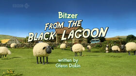 Bitzer From The Black Lagoon title card