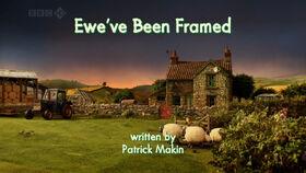 Ewe've Been Framed title card