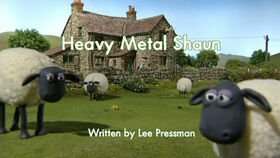 Heavy Metal Shaun title card