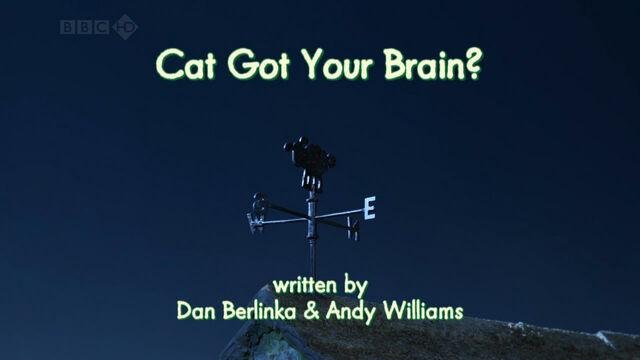 File:Cat Got Your Brain title card.jpg