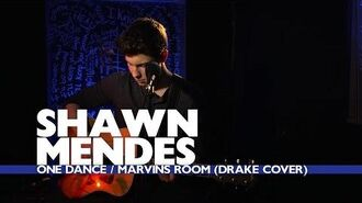 Shawn Mendes - 'One Dance Marvins Room' (Capital Session)