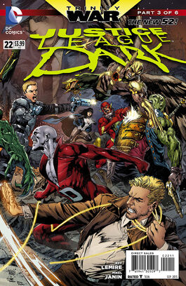 Justice League Dark Vol 1-22 Cover-1