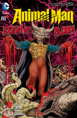 Animal Man Vol 2-23 Cover-1