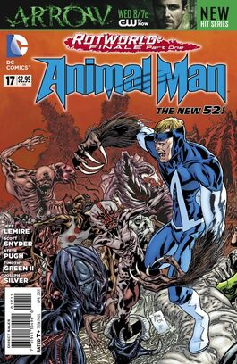 Animal Man Vol 2-17 Cover-1