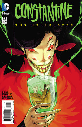 Constantine The Hellblazer Vol 1-12 Cover-1