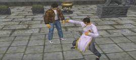 Shen2 Hanhui demonstrates Lunging Strike